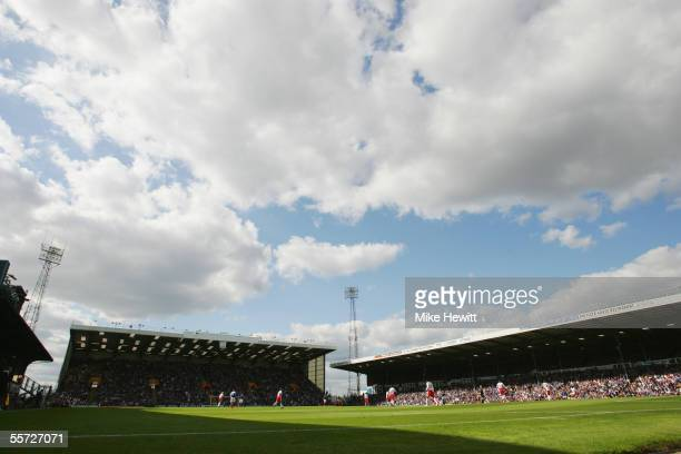General view of Fratton Park during the Barclays Premiership match between Portsmouth and Birmingham City on September 17, 2005 at Fratton Park in...