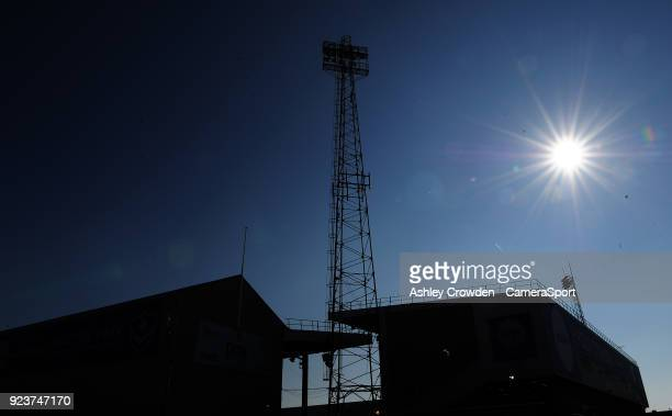 General view of Fratton Park Home to Portsmouth football club during the Sky Bet League One match between Portsmouth and Blackpool at Fratton Park on...