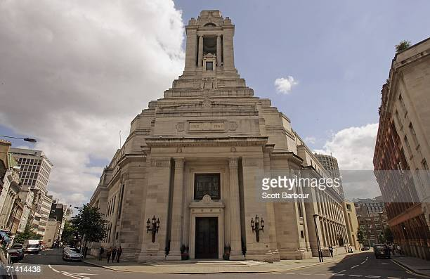 A general view of Freemason's Hall on July 11 2006 in London England Royal objects will be on display for the first time as a new exhibition on the...