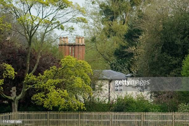 A general view of Frogmore Cottage at Frogmore Cottage on April 10 2019 in Windsor England The cottage is situated on the Frogmore Estate itself part...