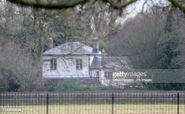A general view of Frogmore Cottage on the Home Park Estate Windsor PA Photo Picture date Tuesday January 14 2020 It's the home of the Duke and...