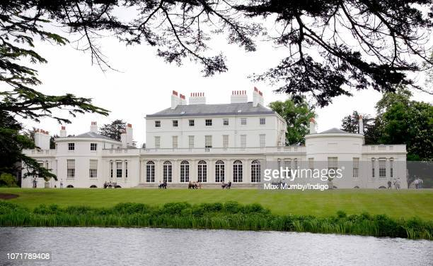 A general view of Frogmore House in Home Park Windsor Castle on May 17 2006 in Windsor England Frogmore House was built in 16801684 and has been used...