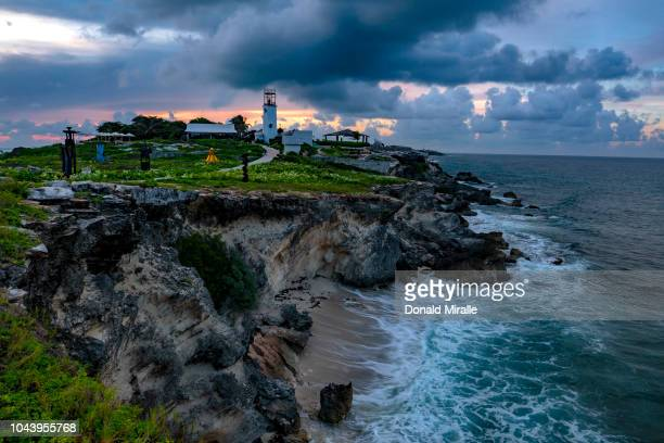 A general view of Garrafon Reef Park in Punta Sur on September 27 2018 in Isla Mujeres Mexico Punta Sur is located at the southern tip of Isla...