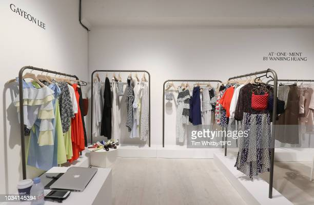 A general view of Gayeon Lee at the Designer Showrooms during London Fashion Week September 2018 on September 15 2018 in London England