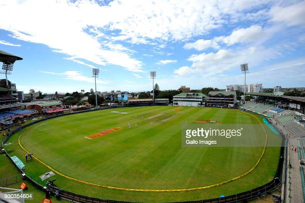 General view of Georges Park cricket grounds during day 3 of the 2nd Sunfoil Test match between South Africa and Australia at St Georges Park on...