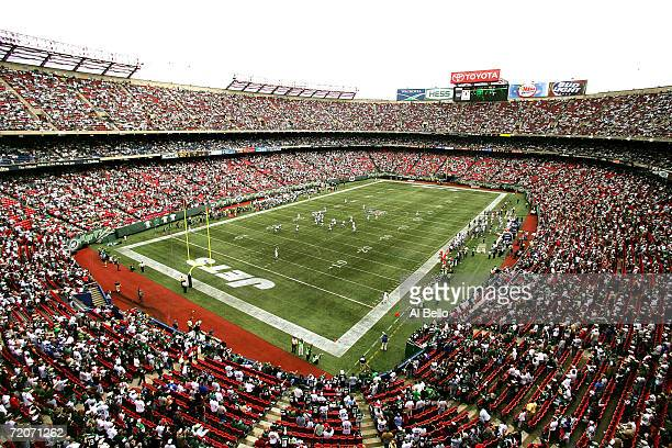A general view of Giants Stadium at the start of the game between the Indianapolis Colts and the New York Jets on October 1 2006 in East Rutherford...