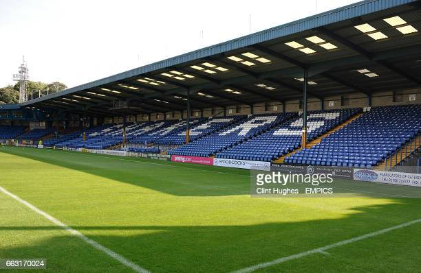General view of Gigg Lane home of Bury FC