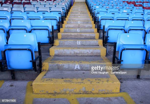 A general view of Glanford Park home of Scunthorpe United FC prior to the Sky Bet League One match between Scunthorpe United and Bristol Rovers at...