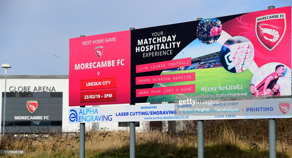 GBR: Morecambe v Lincoln City - Sky Bet League Two