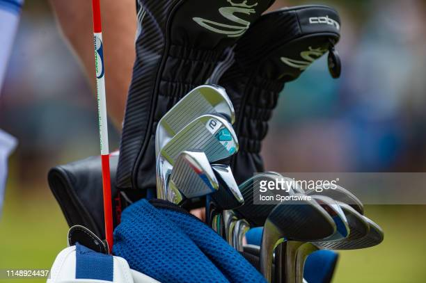 General view of golf clubs during the final round of the ShopRite LPGA Classic on June 9 2019 at the Stockton Seaview Hotel and Golf Club in Galloway...