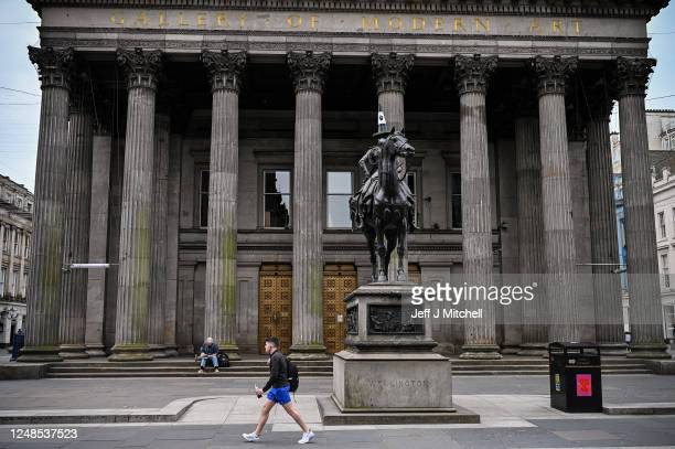 A general view of GOMA the former mansion of Lord William Cunninghame of Lainshaw Glasgow as its historic ties with the transatlantic slave trade and...