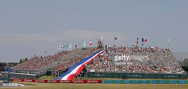 General view of grand stand during the French F1 Grand Prix at Magny Cours on July 3 2005 in Magny Cours France