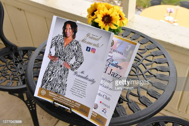 General View of Grandiosity Events 4th annual Polo & Jazz celebrity charity benefit hosted by Real Housewives of Potomac's Karen Huger, Susan...