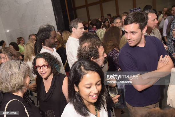 General view of guests attending a special screening of the HBO Documentary Film Captivated The Trials Of Pamela Smart at the Paley Centeron August...