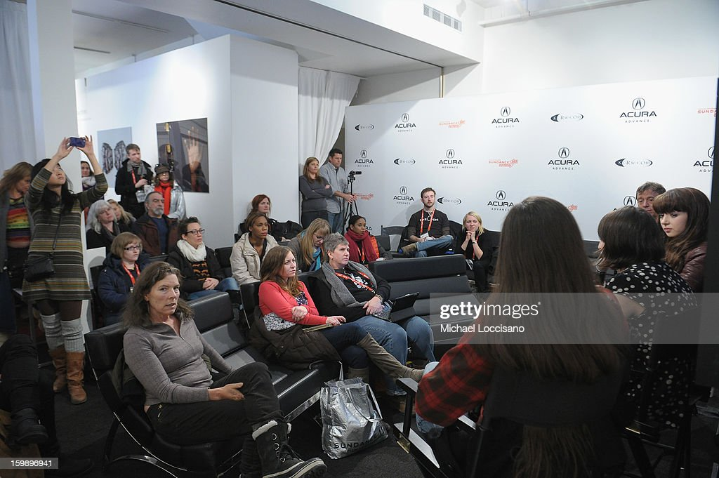 General view of guests attending the Acura Master Class - Emerging Women in Independent Film on January 22, 2013 in Park City, Utah.