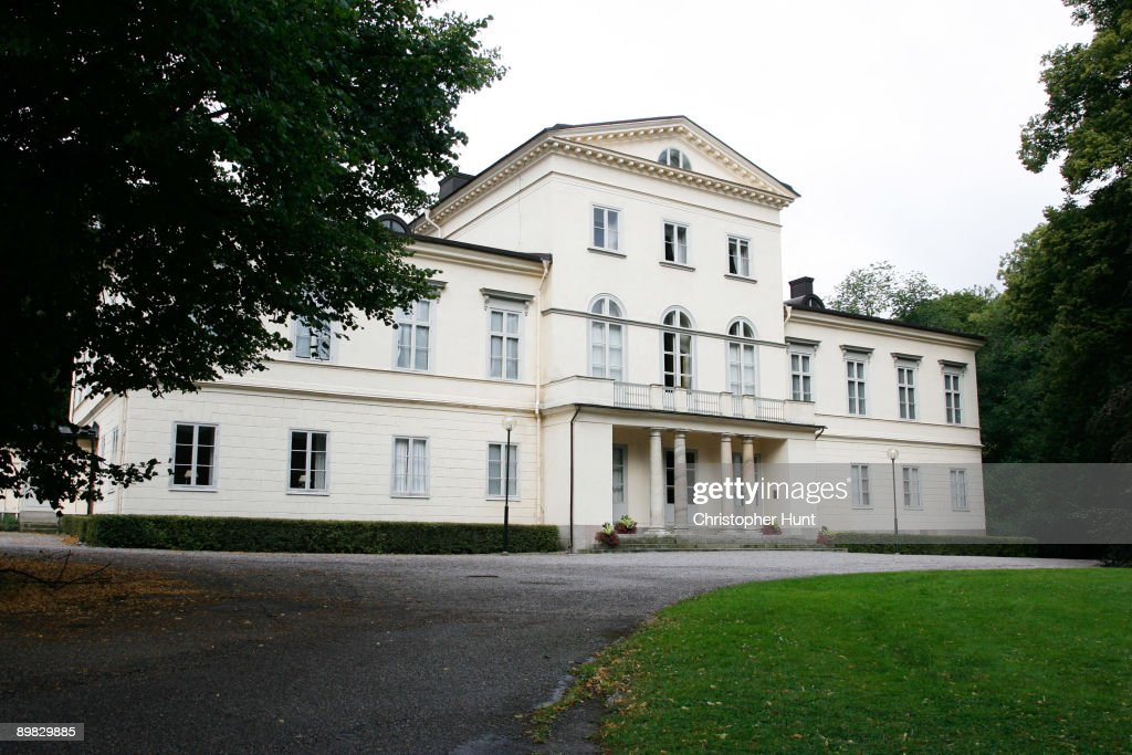 Haga Castle - The New Home Of Crown Princess Victoria Of Sweden : News Photo