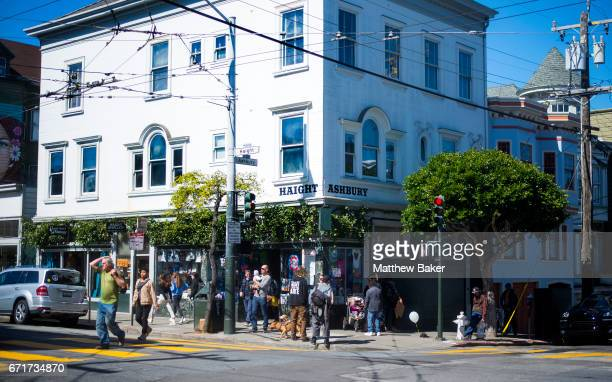 A general view of HaightAshbury on March 2 2017 in San Fransisco CA