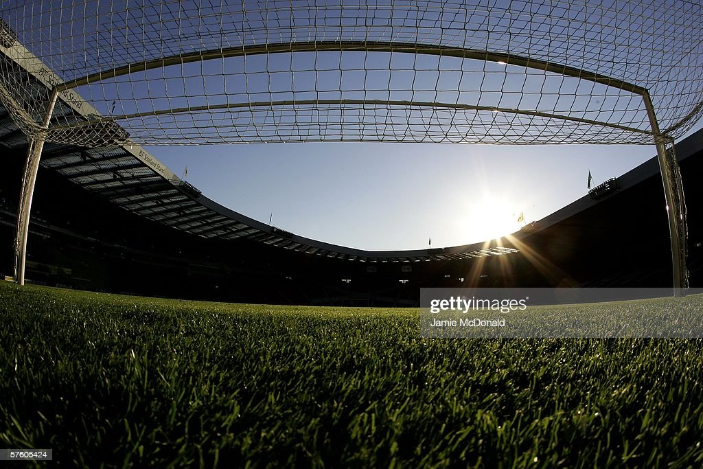 A general view of Hampden Park during the Tennents Scottish Cup Final between Heart of Midlothian and Gretna at Hampden Park on May 13 2006, in Glasgow, Scotland.