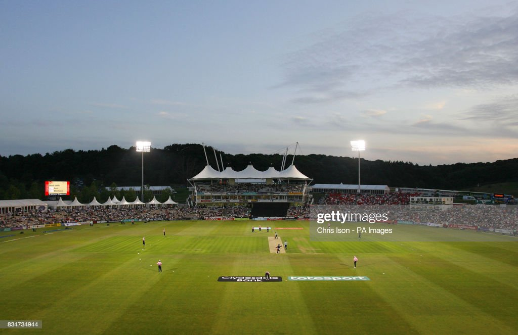 General View Of Hampshire S Cricket Ground The Rose Bowl