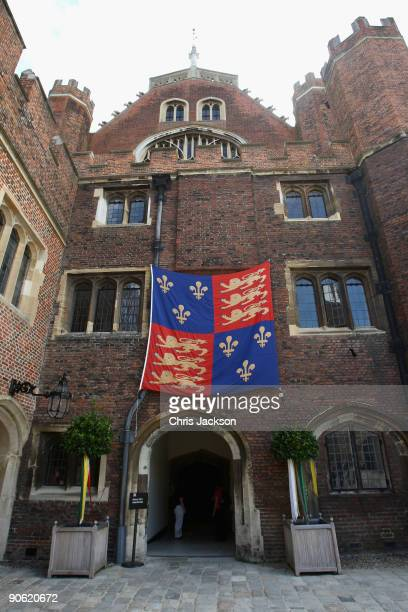 A general view of Hampton Court Palace on September 12 2009 in Richmond upon Thames England Sophie Winkleman and Lord Frederick Windsor who is 31st...