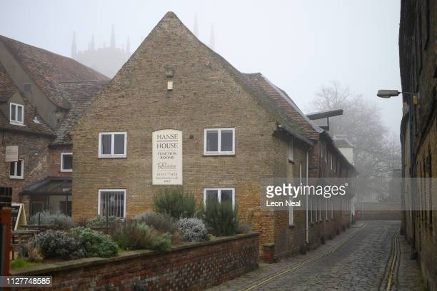 """General view of Hanse House, the only surviving """"Kontor"""" or trading post of the Hanseatic League on February 05, 2019 in King's Lynn, England. The..."""
