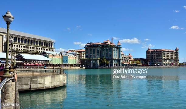 A general view of Harbour front Port Louis Mauritius