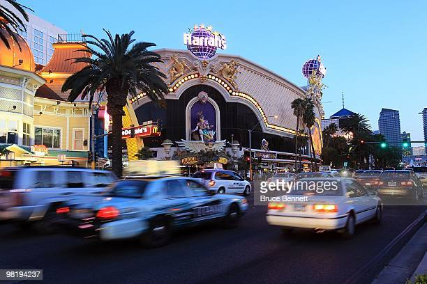 General view of Harrah's Las Vegas Hotel and Casino on March 24, 2010 in Las Vegas, Nevada.