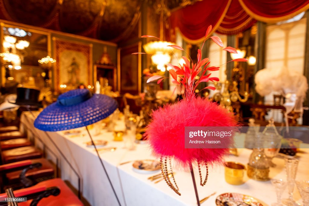 Preview Of Stephen Jones Hats At The Royal Pavilion Exhibition : News Photo