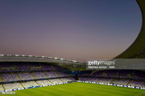 General View of Hazza bin Zayed Stadium home of Al Ain FC of the UAE Pro League prior to the FIFA Club World Cup UAE 2017 play off match between Al...