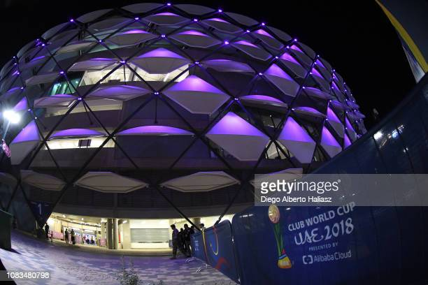 General view of Hazza bin Zayed Stadium prior the FIFA Club World Cup UAE 2018 match between ES Tunis and Al Ain on December 15 2018 in Al Ain United...