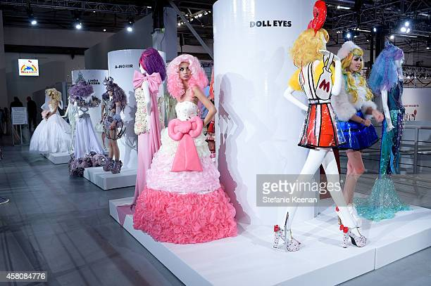General view of Hello Kitty Con 2014 Opening Night Party Cohosted By Target on October 29 2014 in Los Angeles California