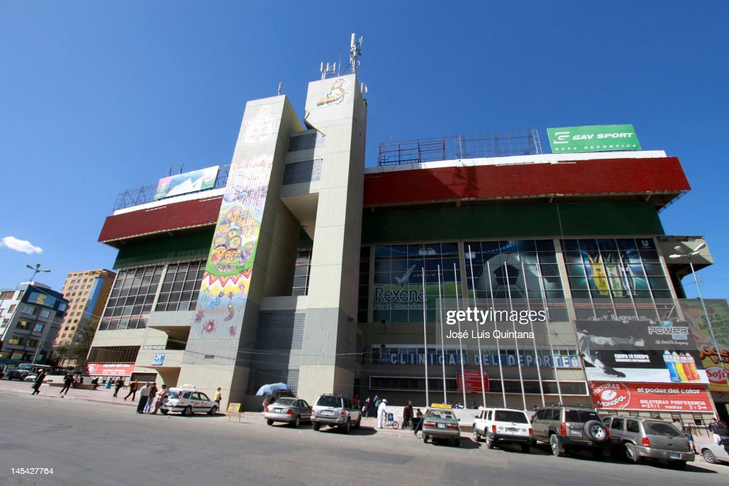 General view of Hernando Siles stadium on May 29, 2012 in La Paz, Bolivia. Hernando Siles stadium can host 42,000 spectators and is the biggest sports complex in Bolivia. It is situated at 3604 meters over the sea level and is the venue for the Bolivian national team games.