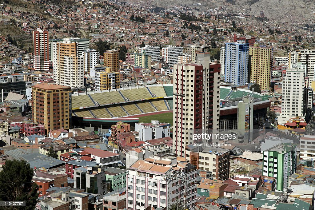 Hernando Siles Stadium - Bolivia : News Photo