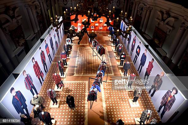 A general view of Hilfiger Edition Fall2017 Presentation on January 10 2017 in Florence Italy