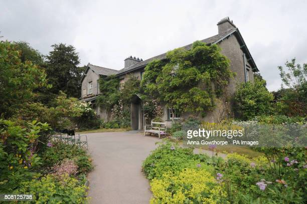 General view of Hill Top, the former home of author Beatrix Potter, situated in the village of Near Sawrey in the Lake District
