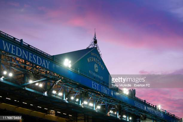 General view of Hillsborough beforevthe Carabao Cup Third Round match between Sheffield Wednesday and Everton at Hillsborough on September 24, 2019...