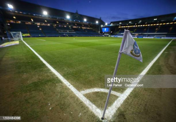 A general view of Hillsborough home of Sheffield Wednesday during the Sky Bet Championship match between Sheffield Wednesday and Charlton Athletic at...