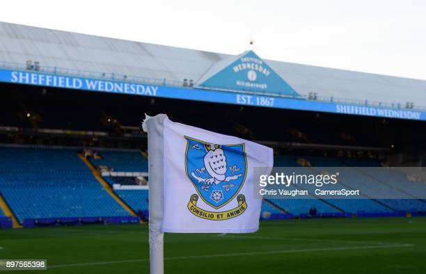 A general view of Hillsborough home of Sheffield Wednesday FC prior to the Sky Bet Championship match between Sheffield Wednesday and Middlesbrough...