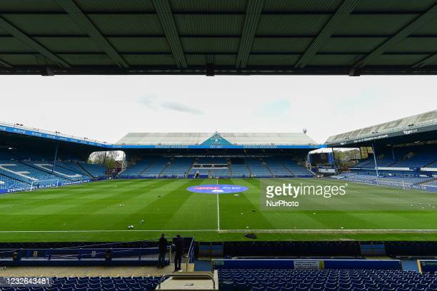 General view of Hillsborough, home to Sheffield Wednesday during the Sky Bet Championship match between Sheffield Wednesday and Nottingham Forest at...