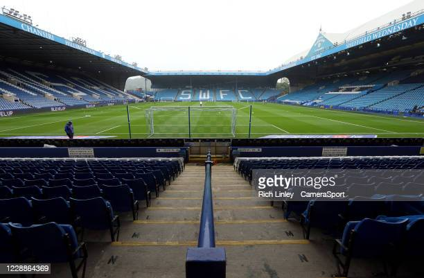 A general view of Hillsborough Stadium home of Sheffield Wednesday during the Sky Bet Championship match between Sheffield Wednesday and Queens Park...