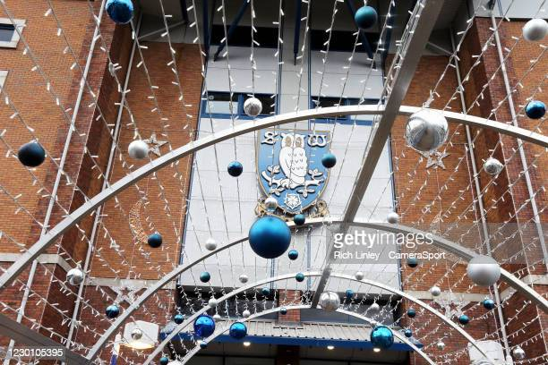 General view of Hillsborough Stadium, home of Sheffield Wednesday during the Sky Bet Championship match between Sheffield Wednesday and Barnsley at...