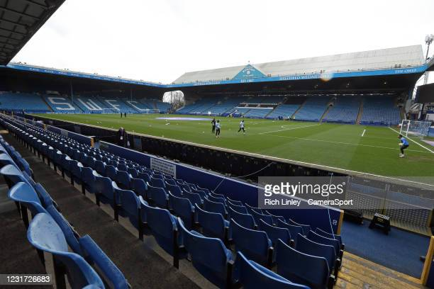 General view of Hillsborough Stadium, home of Sheffield Wednesday during the Sky Bet Championship match between Sheffield Wednesday and Norwich City...