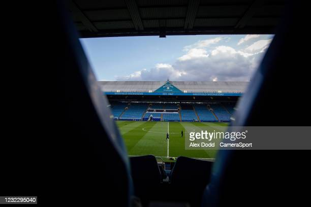 General view of Hillsborough Stadium, home of Sheffield Wednesday during the Sky Bet Championship match between Sheffield Wednesday and Swansea City...