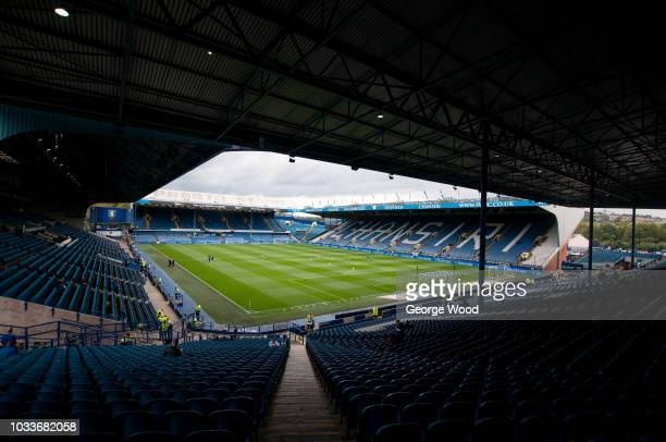 General view of Hillsborough Stadium prior to the Sky Bet Championship match between Sheffield Wednesday and Stoke City at Hillsborough Stadium on...