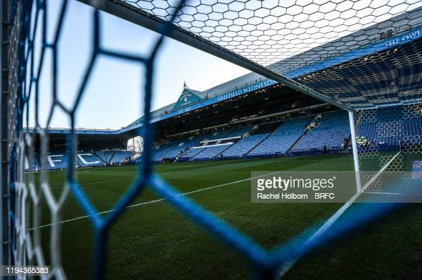 General view of Hillsborough Stadium prior to the Sky Bet Championship match between Sheffield Wednesday and Blackburn Rovers at Hillsborough Stadium...
