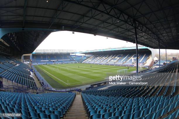 General view of Hillsborough the home of Sheffield Wednesday during the Sky Bet Championship match between Sheffield Wednesday and Millwall at...