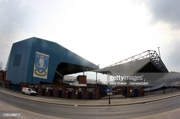 General view of Hillsborough the home of Sheffield Wednesday during the Sky Bet Championship match between Sheffield Wednesday and Blackburn Rovers...