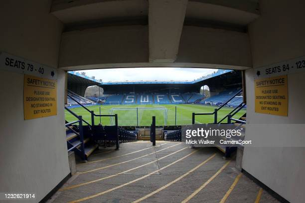 General view of Hillsborough the home of Sheffield Wednesday during the Sky Bet Championship match between Sheffield Wednesday and Nottingham Forest...