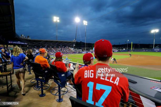 A general view of Historic Bowman Field during the 2018 Little League Classic between the New York Mets and the Philadelphia Phillies on Sunday...