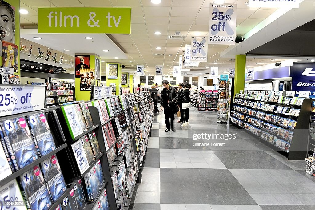A general view of HMV store at HMV Market Street on February 6, 2013 in Manchester, England. Administrators Deloitte are expected to announce shortly the closure of up to 100 stores and the loss of around 1,500 jobs as HMV become the latest in a line of high street chains to close or restructure.